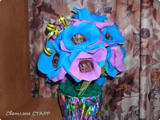 Сделали с одноклассницами сына подарок для учительницы на 8 марта. фото 1