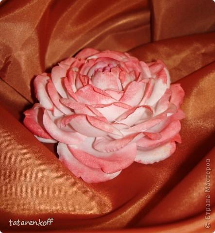 цветочки-брошечки фото 5