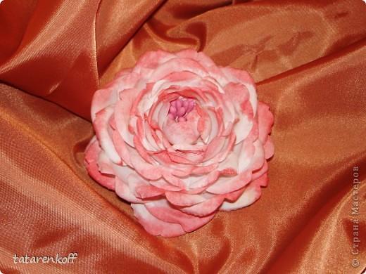цветочки-брошечки фото 6