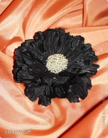 цветочки-брошечки фото 4