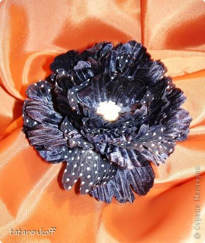 цветочки-брошечки фото 8