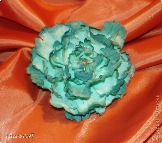 цветочки-брошечки фото 10