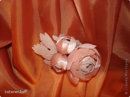 цветочки-брошечки фото 13