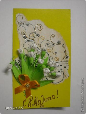 Милые наши рукодельницы! Всех поздравляю с НАШИМ ЖЕНСКИМ ПРАЗДНИКОМ 8 МАРТА!  Эти нежные подснежники для всех моих гостей! С началом весны вас, с новыми идеями для творчества! В женский день все женщины прекрасны! Здесь бессильны хлопоты, года, Пусть сияет вам на небе ясном Ласковое солнышко всегда! В жизни - самых радостных мгновений, Ярких и чудесных лет и дней, Воплощенных планов и стремлений И душевных, искренних друзей!  фото 4