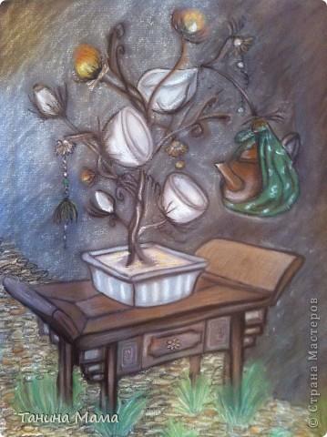 """Картина """"Чайное деревце"""""""