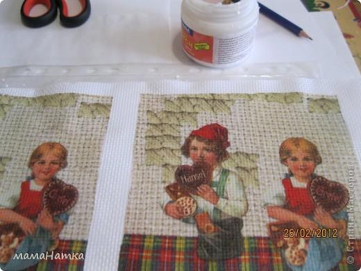 декупаж на ткани+ немного шитья = подарок фото 2