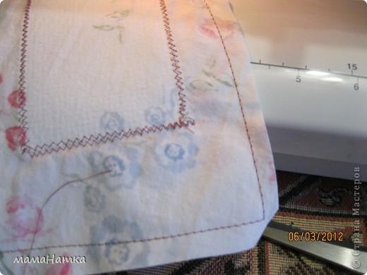 декупаж на ткани+ немного шитья = подарок фото 4