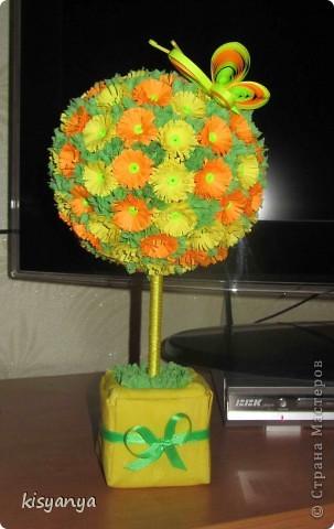Вот такое деревце родилось у меня в подарок мой начальнице на 8 марта фото 1