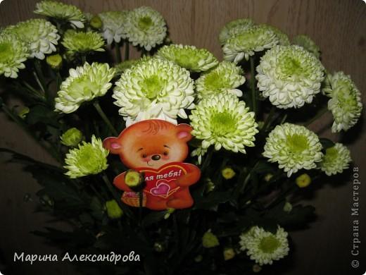 Здравствуйте дорогие мастерицы! Сегодня хочу показать вам подарочки к женскому дню для сестренки и похвастушки...это вот такой вот топиарий...в оранжевых тонах, для её прихожей, прихожая в оранжевом цвете, большая..думаю на комоде найдется для моего деревца место!!! фото 7