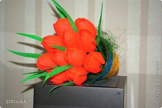 Идею цветка почерпнули в интернете, сделали учителю подарок на 8 марта фото 4