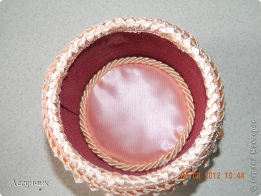 Декор предметов 8 марта Цумами Канзаши Опять заказ Ленты Тесьма шнур Трубочки картонные фото 9