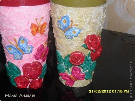 Такие, на мой взгляд ,симпатичные стаканчики,придутся по вкусу любой женщине! фото 9
