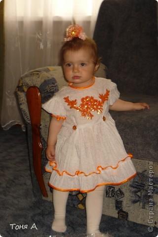 Платье дочке на 5 лет. фото 3