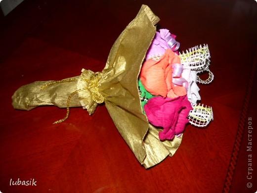 Это продолжение подарков к 8 марта.  Сделала такой вот наборчик! Мне очень нравится эта салфеточка и наконец - то дошли до неё руки. фото 10