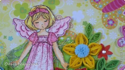 Открытка для девочки. фото 1