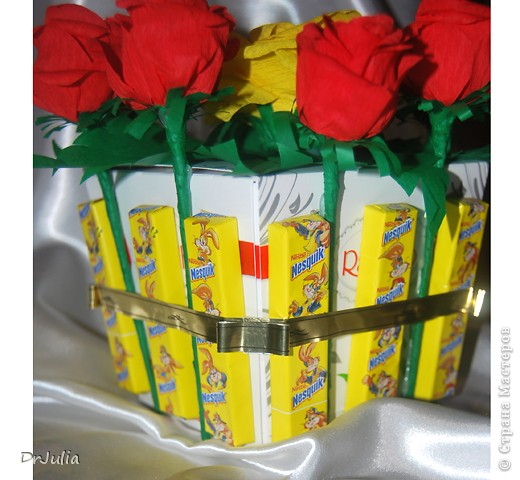 Сладкие подарки на 8 марта фото 5