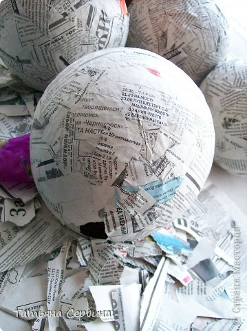 Впервые делала цветочные шары, хотя собиралась давно и долго) очень они мне нравятся и к этому 8 Марта сделала подарки: фото 3