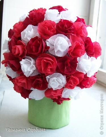 Впервые делала цветочные шары, хотя собиралась давно и долго) очень они мне нравятся и к этому 8 Марта сделала подарки: фото 10