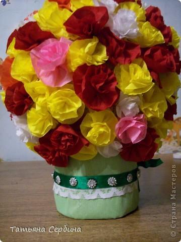 Впервые делала цветочные шары, хотя собиралась давно и долго) очень они мне нравятся и к этому 8 Марта сделала подарки: фото 12