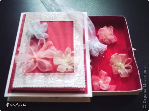 Первая денежная открытка-коробочка фото 1