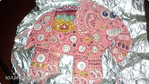 Розовый Слон для мамы фото 1