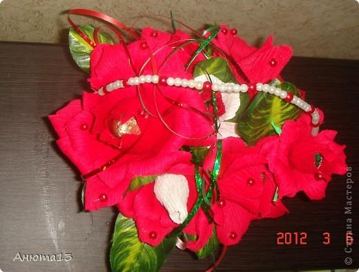 Вот такую сумочку я сделала в подарок на 8-ое марта фото 3