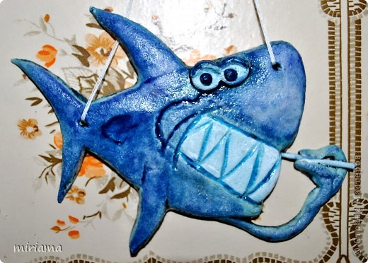 Вот такая акула у меня получилась)))) фото 1