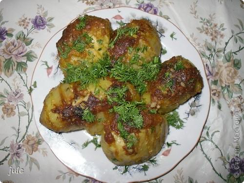 картофель - это вкусный и сытный гарнир...и еще красивый ) фото 1