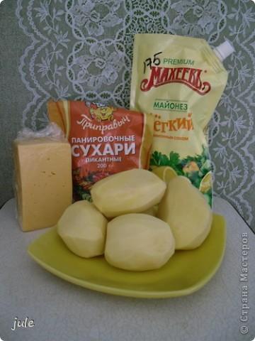 картофель - это вкусный и сытный гарнир...и еще красивый ) фото 2