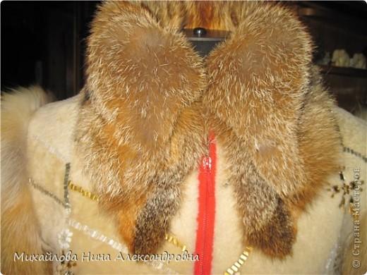 Меховая курточка с лисой фото 3