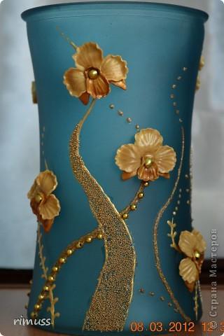 здравствуйте всем! я тоже с подарками! крайние вазы были куплены такого цвета и матовые, а средняя прозрачная цветная фото 5