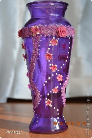 здравствуйте всем! я тоже с подарками! крайние вазы были куплены такого цвета и матовые, а средняя прозрачная цветная фото 9