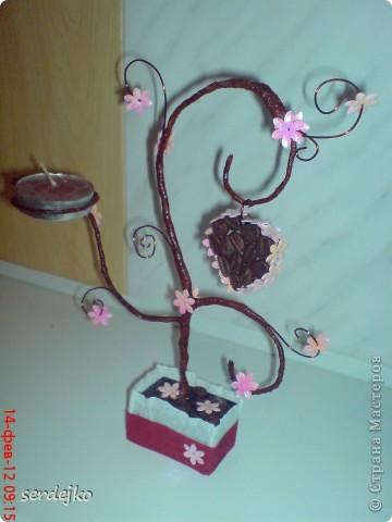 Вдохновилась работами мастериц и сотворила подарок подружке )))