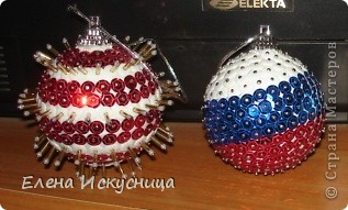 Новогодние шарики фото 2