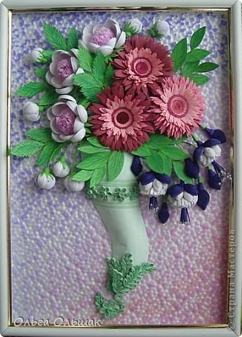 Дорогие мастерицы!В первый месяц весны на свет у меня появился  цветочный рог изобилия. фото 8