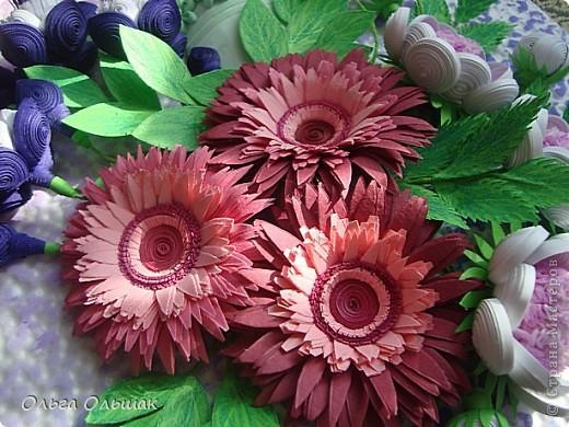 Дорогие мастерицы!В первый месяц весны на свет у меня появился  цветочный рог изобилия. фото 4