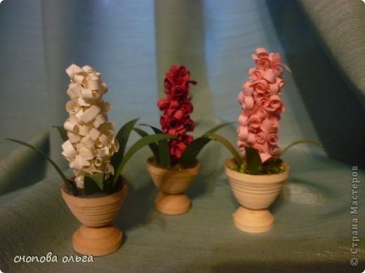 Вот такие весенние цветочки у меня получились.