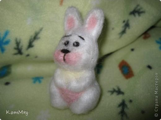 Сегодня на радостях вытыкала новую зверушку - заИса...  Вот такой он получился - мартовский заяц! фото 9