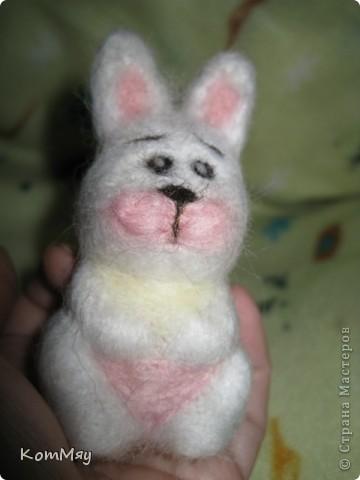 Сегодня на радостях вытыкала новую зверушку - заИса...  Вот такой он получился - мартовский заяц! фото 10
