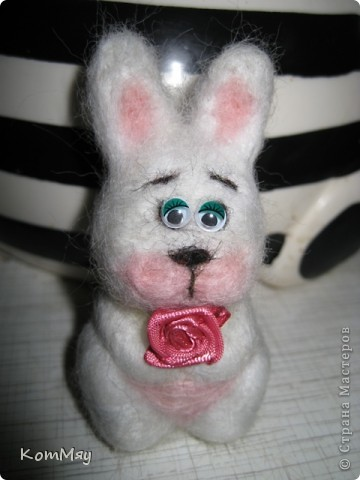 Сегодня на радостях вытыкала новую зверушку - заИса...  Вот такой он получился - мартовский заяц! фото 11