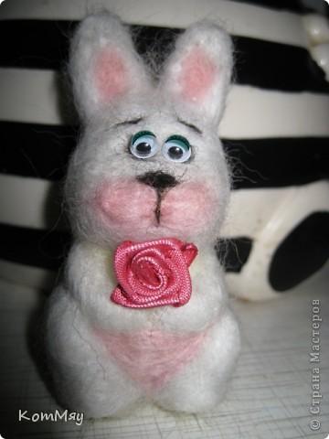 Сегодня на радостях вытыкала новую зверушку - заИса...  Вот такой он получился - мартовский заяц! фото 12