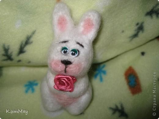 Сегодня на радостях вытыкала новую зверушку - заИса...  Вот такой он получился - мартовский заяц! фото 2