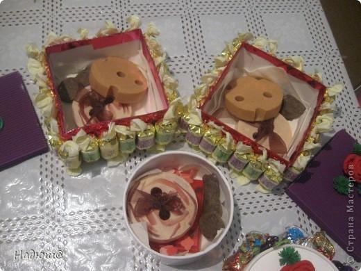 Эти подарочки - моим коллегам:) Вот так вот по - весеннему:) И вкусненько - с конфетками фото 3
