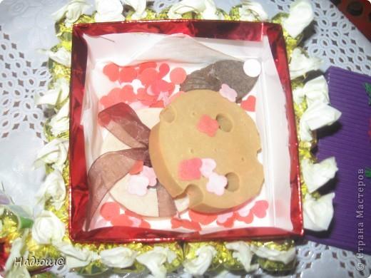 Эти подарочки - моим коллегам:) Вот так вот по - весеннему:) И вкусненько - с конфетками фото 5
