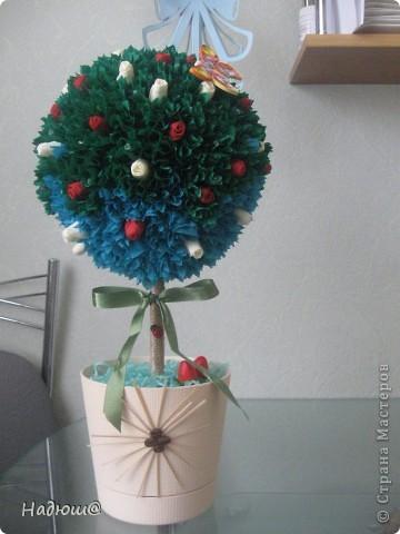 Эти подарочки - моим коллегам:) Вот так вот по - весеннему:) И вкусненько - с конфетками фото 6