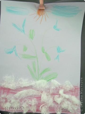 Вот такую корзину с цветами мы подарили нашим мамам! Ребятишки 5-6 лет очень трепетно и с любовью отнеслись к этой работе.  фото 7