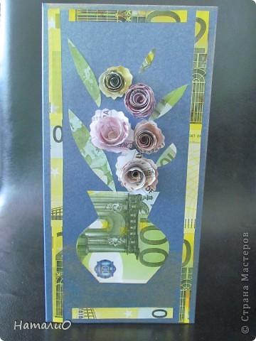Весна! и у меня расцвели подснежники! Получилась такая вот открытка в подарок учителю. фото 3