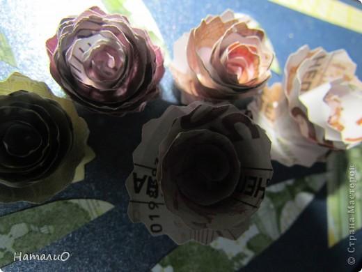 Весна! и у меня расцвели подснежники! Получилась такая вот открытка в подарок учителю. фото 4