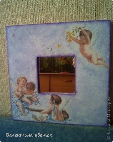 """Зеркало для подруги """"Райские птицы"""" фото 4"""