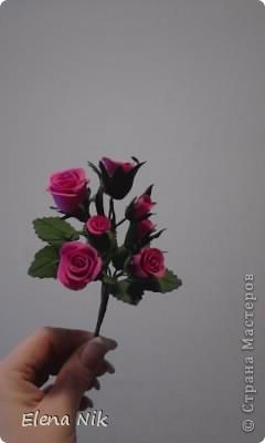 Доброй ночи,дорогие мастерицы.Вот такие кустовые розы я подарила подругам на праздник фото 3